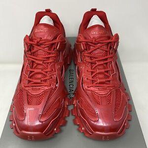 Balenciaga Track.2 Men's Sneakers Red Size 43 EU /10 US
