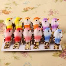 12pcs Home Decoration DIY Craft Artificial Foam Birds Wedding Wreath Decor