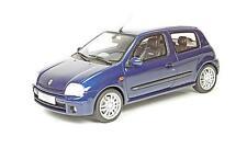 RENAULT CLIO 2 RS PH. 1 BLEU - OTTOMOBILE 1/18 car Voiture miniature