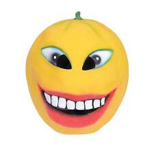 Outrageux Orange Masque Adultes Halloween Accessoire Déguisement