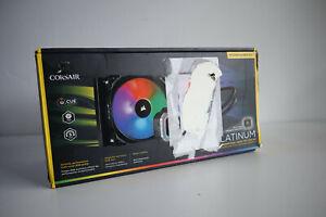 Corsair Hydro Series H115i RGB PLATINUM (280mm) Liquid CPU Cooler