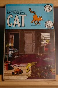 THE ADVENTURES OF FAT FREDDY'S CAT (HASSLE FREE PRESS)