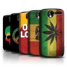 STUFF4 Back Case/Cover/Skin for HTC Desire G7/Rasta Reggae Art