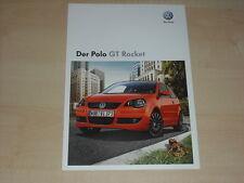 64882) VW Polo GT Rocket Prospekt 06/2008