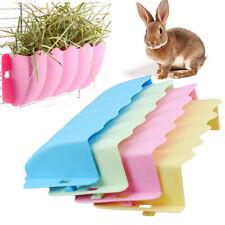 Pet Rabbit Feeder Hay Grass Bowl Rack Box Carrot Small Animal Cage Guinea Pig