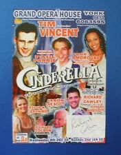 THEATRE FLYER CINDERELLA SIGNED BY RICHARD COLSON