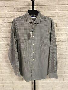 Thomas Dean C3 Core Comfort Control mens PERFORMANCE shirt green M NEW $125 #50
