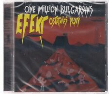 ONE MILLION BULGARIANS EFEKT OSTATNIEJ PLYTY NEW SEALED CD TOP RARE OOP SOLD OUT