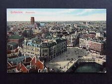 Postcard Netherlands Holland Rotterdam Panorama Belvedere Witte Huis 1910