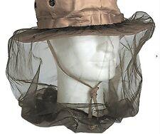 MOSKITO-KOPFNETZ MIT GUMMIZUG Hutnetz Mückenschutz Moskitonetz Insektenschutz