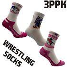 Wrestling Socks BERKNER 3PPK Training Unisex Cotton Ringersocken Sports Socks