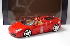 1:18 Hot Wheels ferrari f430 Spider red new en Premium-modelcars