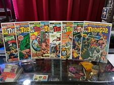 CREATURES ON THE LOOSE 22-29, KEY 1st APPEARANCE THONGOR, Lot of 8 Marvel Comics