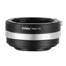 Weidon Adapter PK/DA-FX for Pentax PK/DA to Fujifilm Fuji X-PRO1 X-E1 X-E2 X-T1