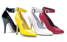 Black Pumps Drag Queen Mens Crossdresser Heels Shoes Large Womans Size 12 13 14