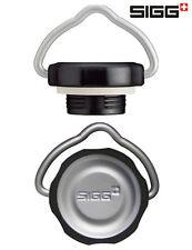 SIGG Verschluss Retro-Deckel SPECIAL TOP für SIGG Trink-Flasche Silber Schwarz