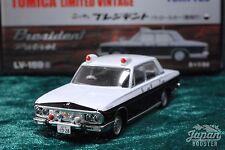 [TOMICA LIMITED VINTAGE LV-159a 1/64] NISSAN PRESIDENT PATROL CAR POLICE
