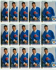 OWEN NOLAN ROOKIE 15 CARD RC LOT 1990-91 UPPER DECK HOCKEY # 352 FRENCH & U.S.