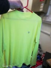 RON HILL RUNNING LONG SLEEVE T SHIRT AT £10 IN X/L REFLECTIVE