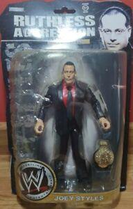 WWE Ruthless Aggression Series 35 Joey Styles Wrestling Figure Jakks WWF