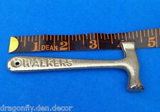 "Vintage Collectible Advertising ""Walkers Toffee"" Hammer - Silver-tone"