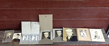 Lot of 9 Antique Photographs & Cabinet Cards