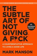 The Subtle Art of Not Giving a F*ck - Paperback BOOK Brand New Free Shipping