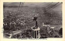 BR38463 Grenoble teleferique du fort de la bastille cable train france