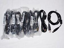 8PC Lot USB 2.0 A to B Data Cable 389G017523M00G - Shuttle-Z E101344 Cable - 6ft