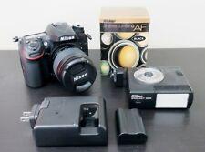 Pristine Nikon D7200 DSLR Camera with 28-80mm G Lens + flash - just 1,146 clicks