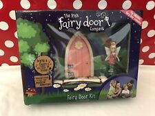 New Nib Irish Fairy Door Company Kit Pink Door Doll ~ Cute ~ Fast Shipping