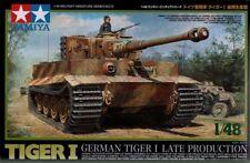 Tamiya 1/48 scale WW2 German Tiger I Late production tank