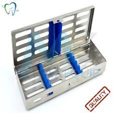 La stérilisation stérilisant hold 5 cassette rack Plateau dentaire autoclave CE Médical