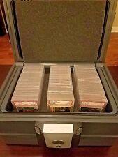 Fireproof Trading Card Storage Box Safe Case Holder Waterproof PSA 10