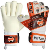 Zoop Pro Roll Finger Saver Goalkeeper Goalie Gloves Sizes 6/7/8/9/10.