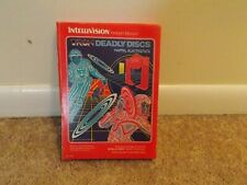 Vintage Intellivision Tron Deadly Disc Video Game 1982 Made In Usa