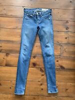 Rag Bone Skinny Jeans Size 25 Blue Inseam 28 Inches