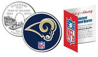ST. LOUIS RAMS * Officially Licensed * NFL MISSOURI US State Quarter Coin w/COA