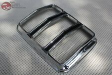 64-66 Ford Mustang Taillamp Tail Light Lens Bezel Rim Trim Chrome Black Paint