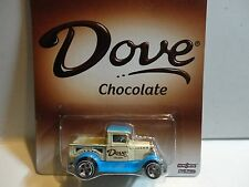 Hot Wheels Dove Chocolate '29 Ford Pick Up w/Real Riders