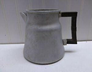 Wear-Ever 3006 Aluminum Indoor Outdoor Stove Top Coffee Pot Tea Kettle no Lid