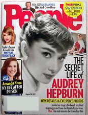 Aug 28, 2017 People Magazine - The Secret Life of Audrey Hepburn