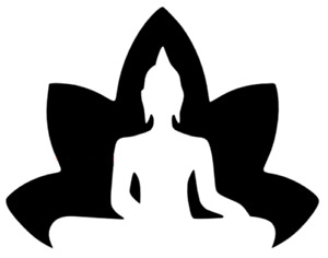 OASIS BUDDHA MYLAR STENCIL HOME DECOR PAINTING WALL ART 190 MICRON - A7,A6,A5