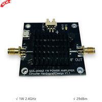1W 2.4GHz Microwave Power Amplifier RF Power Amp Module Unidirectional 29dBm