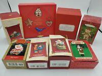 Hallmark Keepsake Ornaments - Lot of 8