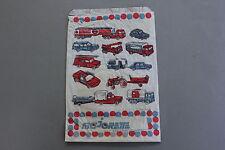 Ancienne publicité Majorette auto jouet voiture bateau miniature sachet papier