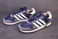 SB274 Adidas Haven Herren Sneaker Sportschuhe Gr. 46 Leder Nylon blau