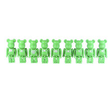 Bearbrick 100%  Basic Letters Series 9 Full Set Medicom Green Be@rbrick 3""
