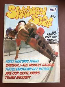 Skateboard Scene Magazine Issue No.1 1977