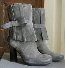 Scarpe donna Stivaletto in camoscio grigio JANET & JANET